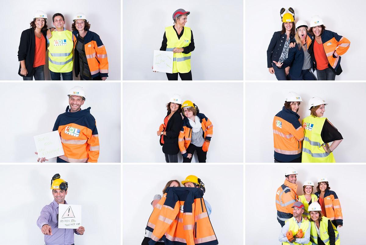 photocall 20 ans eol conseil photographe événementiel Wambrechies